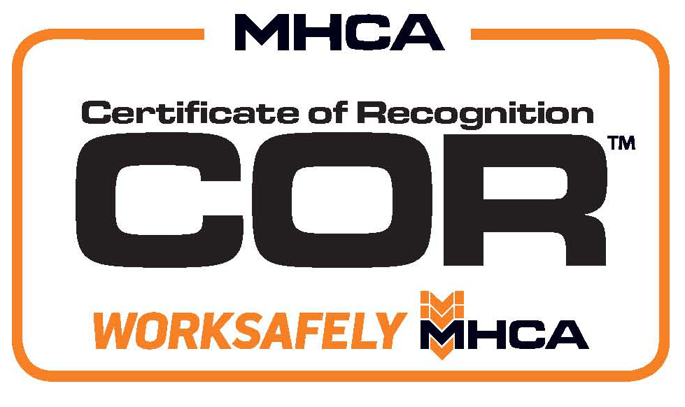 Cor Certification Process Manitoba Heavy Construction Association