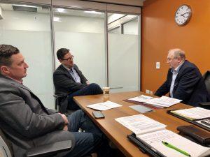 meeting with Coun. Matt Allard, chair of city council's infrastructure
