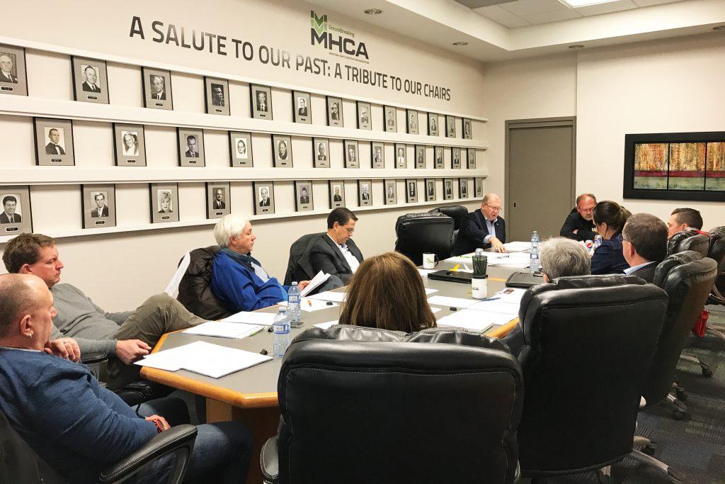 MHCA Executive Committee meeting