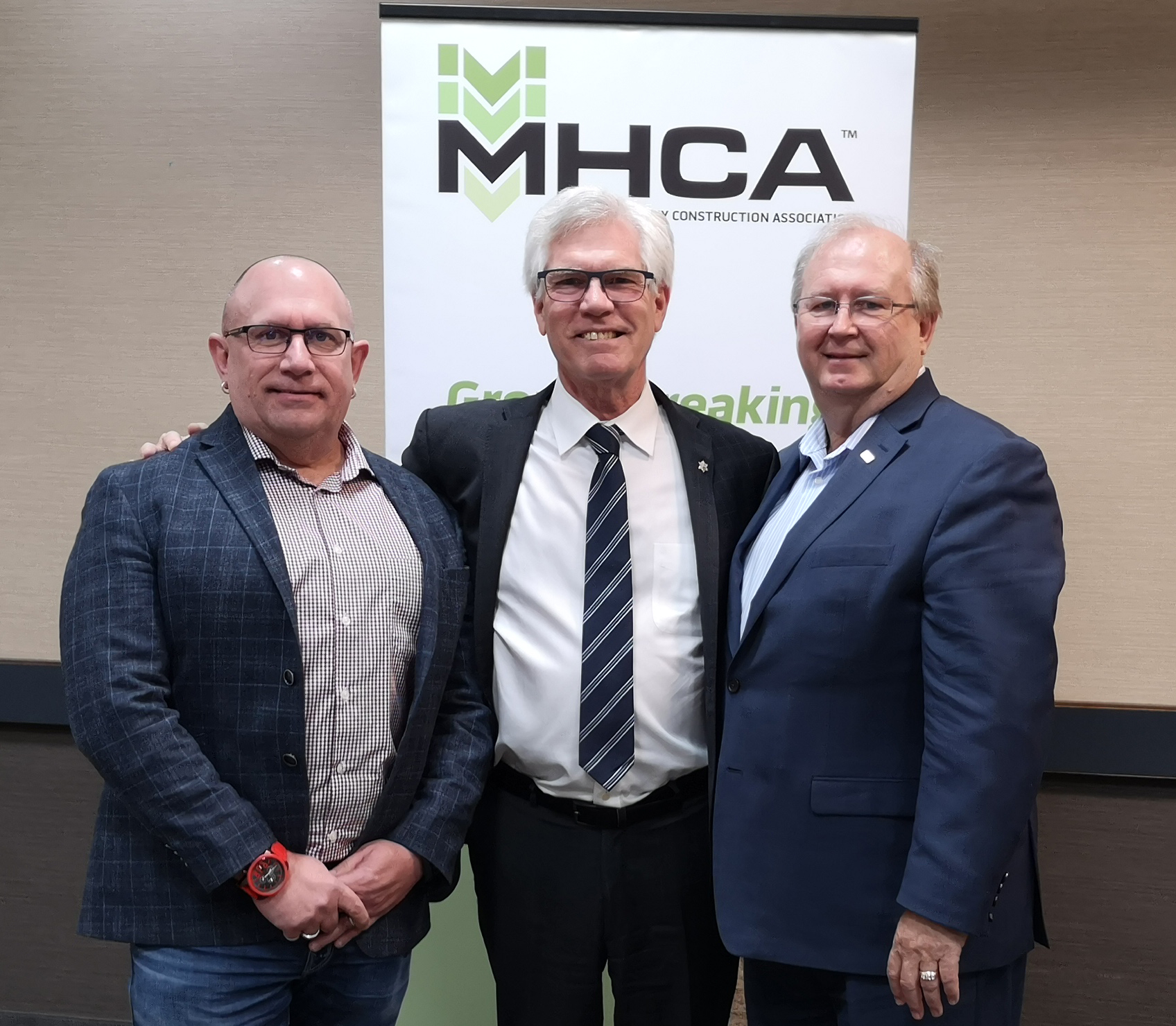 Breakfast with Leaders - Jack Meseyton, Jim Carr and Chris Lorenc