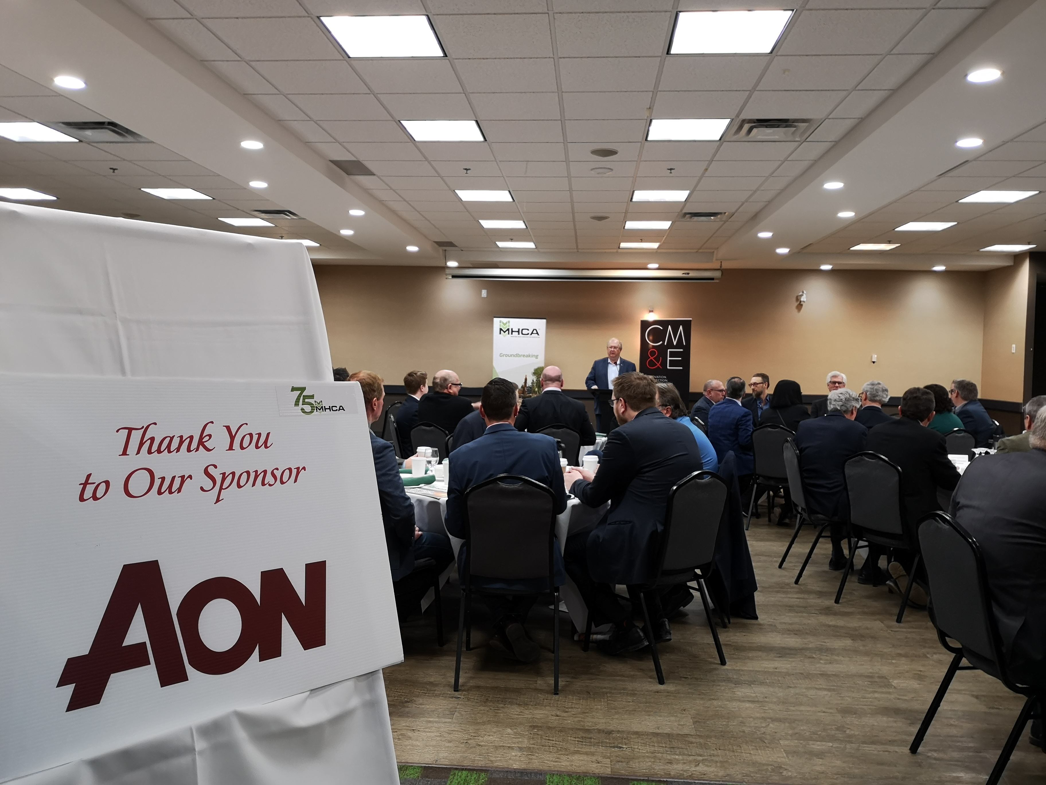 Breakfast with Leaders Series sponsored by AON